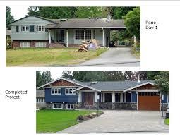 Best  Tri Level Remodel Ideas On Pinterest - Split level exterior remodel