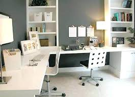 Home office desks for two Freelance Graphic Designer Desk Home Office Ideas Dual Borsafinanzaclub Dual Desk Home Office Borsafinanzaclub