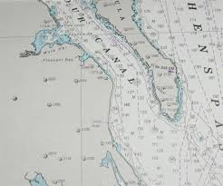 Southeast Alaska Chart Nautical Chart No 4972 United States Alaska Southeast