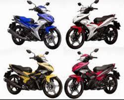 moto yamaha. motor yamaha bebek moto