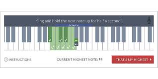 Octave Range Chart How To Find Your Vocal Range Use This Range Finder Tool