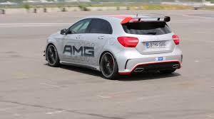 This A 45 AMG Sounds Like a WRC Car - autoevolution