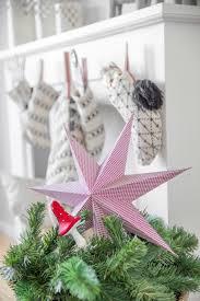 Papierstern In Rosa Weihnachtsstern