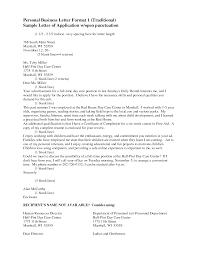 Standard Personal Letter Format Letter Format 2017