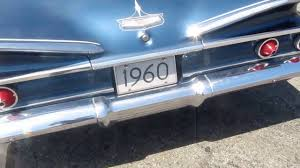 1960 CHEVY BEL AIR 2 DOOR BUBBLETOP 350 V8 4 SPEED FOR SALE - YouTube