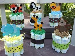 Centerpieces For Baby Shower Safari Theme
