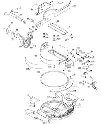 Dewalt saw miter parts model dw713type2 sears partsdirect