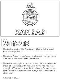 Small Picture Kansas State Flag