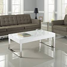 white coffee tables. Contemporary Glass And Polished Chrome Lift-top Coffee Table White Tables N