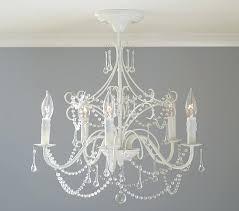chandelier flush mount pottery barn kids mini chandelier flush mount