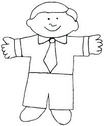Flat Stanley Template Extraordinary Flat Stanley Outline Our Template For The Flat Flat Stanley Body