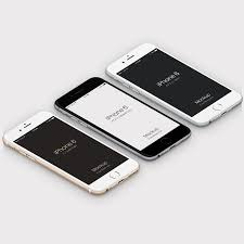 iphone 6 white png. isometric free psd iphone 6 mockup template iphone white png