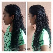 Indian Hair Style quick hairstyle ideas for indian naturally curly and wavy hair 3408 by wearticles.com