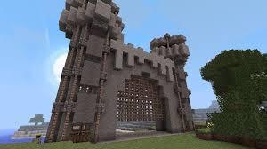 minecraft gate design. Modren Gate Minecraft Castle Gate Ideas In Gate Design