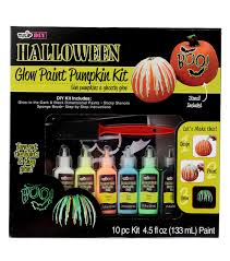 tulip diy glow paint pumpkin kit