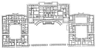 The Ground Plan Of The Catherine Palace Notice The Enfilade As Catherine Palace Floor Plan