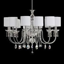 elegant blown glass crystal chandelier