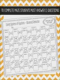 new solving systems equations by elimination worksheet lovely systems equations maze advanced elimination ideas