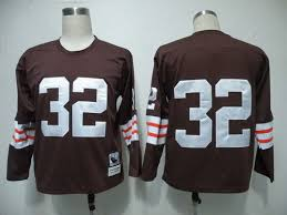 Offer Fashion Apparel Tnt 32 Seller�� Official Style Brown Denver Throwback Jersey Jim Shipping Broncos 3z25n64k9gg Long-sleeved Co Cleveland Free ��best Gear Browns By Bengals Nfl