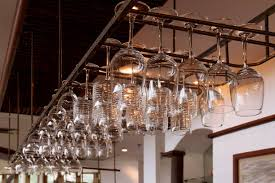 bar glass rack fine on dining room royalty free hanging pictures images and stock