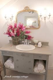 6. Repurposed Sideboard Sink Vanity with Storage