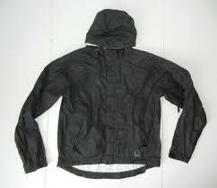 Sierra Designs Rn 60918 Sierra Designs Black Waterproof Rain Jacket Hiking Windbreaker Coat Sz Mens M