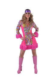 70er Jahre Flower Power Kleid mit Plüsch Retro Hippiekleid bis XXL ...