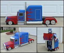 picture of transforming optimus prime costume