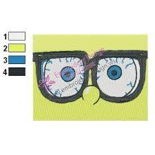 Eyes Embroidery Design Spongebob Squarepants Eyes Embroidery Design