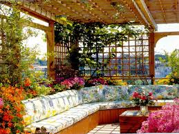 Small Picture Bedroom Awesome Designed Rock Garden And Flower Bed Border Idea