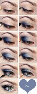 graduation makeup tutorial the blue makeup