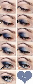 graduation makeup tutorial the blue makeup