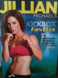 jillian michaels kickbox fast fix if you want short cardiovascular workouts