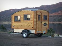 Small Picture Man Builds 11800 Lightweight Mobile Micro Camper Cabin For Sale