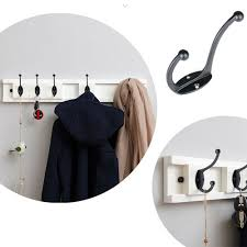 details about 2pcs clothes hooks vintage antique hat wall mounted coat hook bathroom bedroom