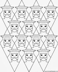 Don\'t eat the paste witches coloring page