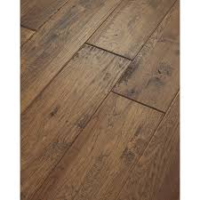 Engineered Wood Flooring Kitchen Shaw 8 In W Prefinished Hickory Engineered Hardwood Flooring