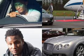 Photo of John Obi Mikel Bentley Continental GT - car