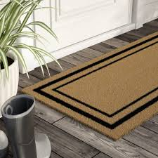 Outdoor : Rubber Double Door Mat Large Porch Mats French Door Rug ...
