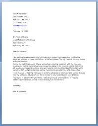 Cover Letters For Medical Assistant Letter Sample Unforgettable