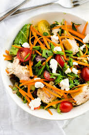 fresh garden salad with chicken. Delighful Fresh Fresh Herb Salad With Grilled Chicken Goat Cheese U0026 Avocado Intended Garden With Chicken Wendy Polisi