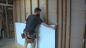 how to hang sheet rock how to hang drywall on walls youtube