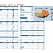 Monthly Family Budget Worksheet Household Budget Spreadsheet 82784670768 Monthly