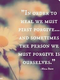 How To Forgive Yourself Quotes