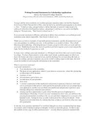 College Personal Statement Examples Resume Personal Statement Examples Skinalluremedspa Com