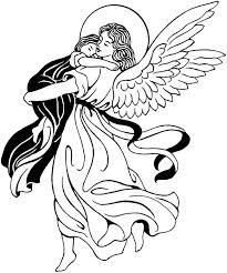 Kleurplaat Engel Kleurplaat Kleurplaten Engel En Geloof