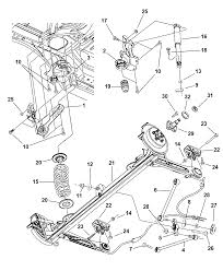 2002 chrysler pt cruiser suspension rear diagram 00i54891