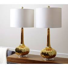 abbyson antique gold mercury glass table lamp set of 2 free for astonishing mercury
