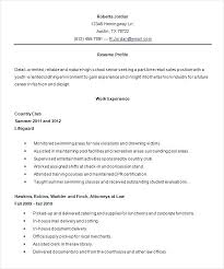 Resumes For High Schoolers Delectable Examples Of Good Resumes For High School Students Ppliction