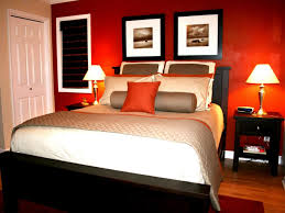 Romantic Bedroom Wall Decor Walls Painted Of Orange White Walls - Beige and black bedroom